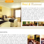 Hotel And Restaurant Templates