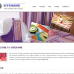 Free textile website templates